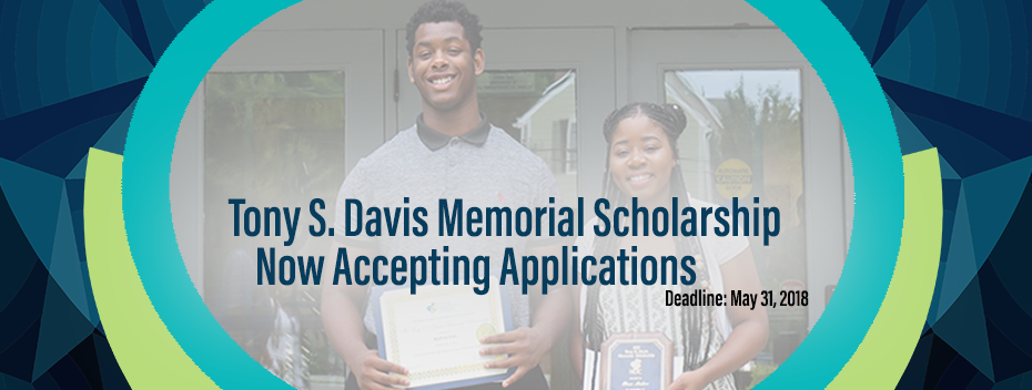 Tony Davis Scholarship Application now Open